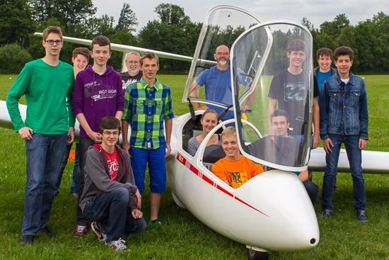 Neue Flugschüler